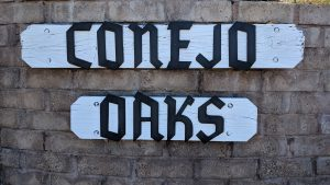 Conejo Oaks Sign for 1449 La Jolla Dr.