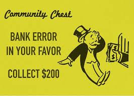 bank error card
