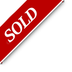 Sold status banner